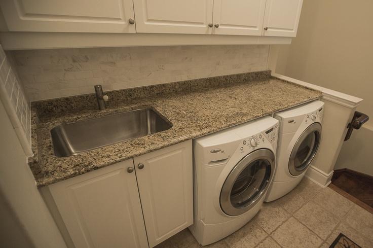 ... countertops: Reno Ideas, Room Makeover, Laundry Rooms, Room Renos