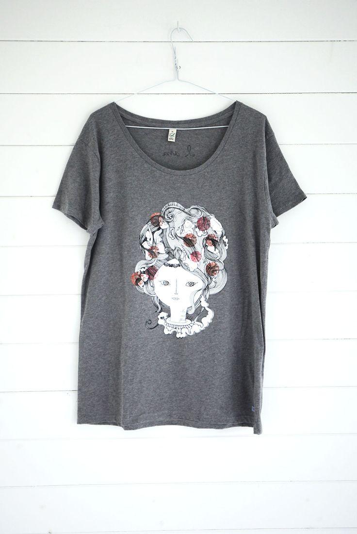SasandYosh-I am-Womens Organic Cotton T-3