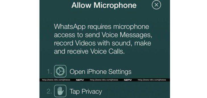 iOS 8 ile birlikte WhatsApp'a sesli konuşma özelliği geliyor | Webledik
