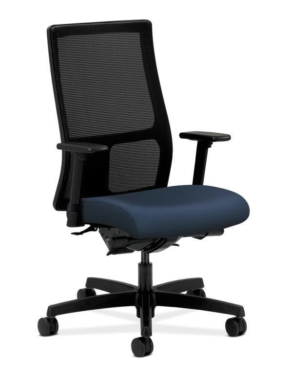 Hon Desk Chairs Blue Swivel Chair Uk Home Shopping Ignition High Back Mesh By
