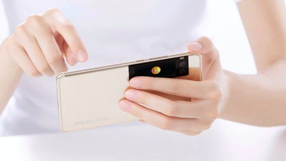 Meizus latest flagship smartphone comes with an extra screen at the rear  Meizu has taken the covers off its latest flagship smartphone. Instead of making the display taller like Samsung and LG the Chinese smartphone brand is trying to stand out by fitting a secondary display at the back.  This might remind you of YotaPhone but Meizu is taking a step further by fitting a colour AMOLED display thats also touch enabled.  The latest Meizu flagship comes in two sizes  a 5.2 Pro 7 with a full HD…