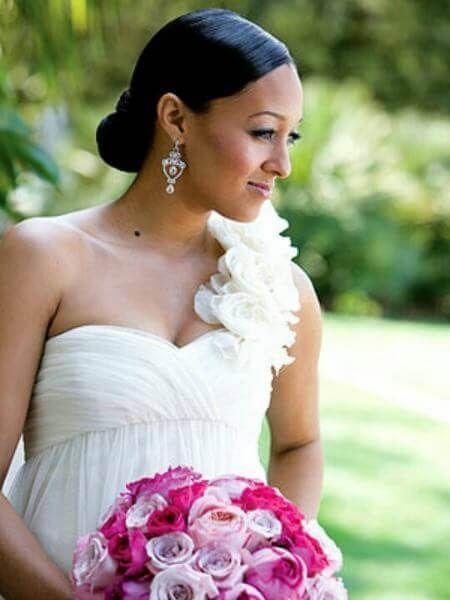5 Celebrity Wedding Hairstyles For Black Women