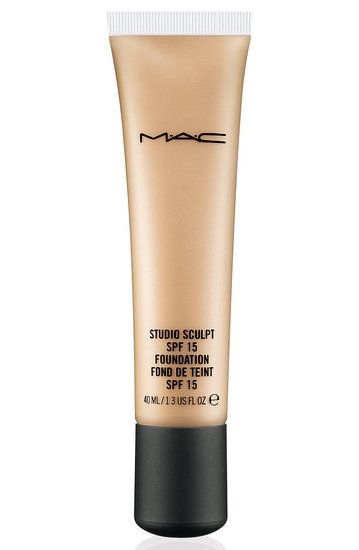 MAC Studio Sculpt Foundation: It's a creamy, luxurious, gel-based foundation that provides medium, to high coverage. It is fairly thick, but doesn't look cakey and doesn't set. It's very hydrating, leaves skin looking soft, smooth and slightly dewy, plus a little goes a long way.