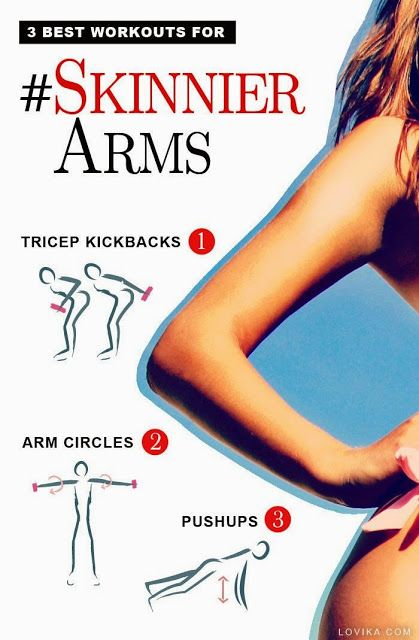 How to Get Skinny Arms Fast! No Special Diet Required