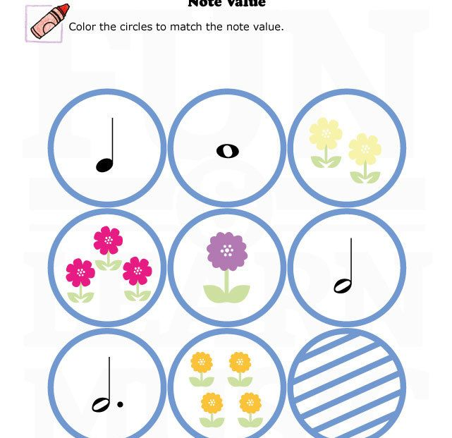 17 Best images about Note Value on Pinterest | Free printables ...
