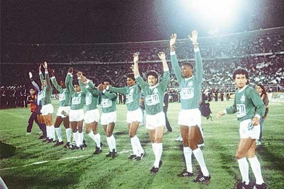 Nacional-Olimpia. Final Libertadores 1989