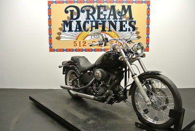eBay: FXSTB - Night Train -- Dream Machines Indian 2006 Harley-Davidson FXSTB - Night Train 18825 Miles Blac #harleydavidson