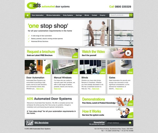 ADS - Automated Doors Systems on Behance