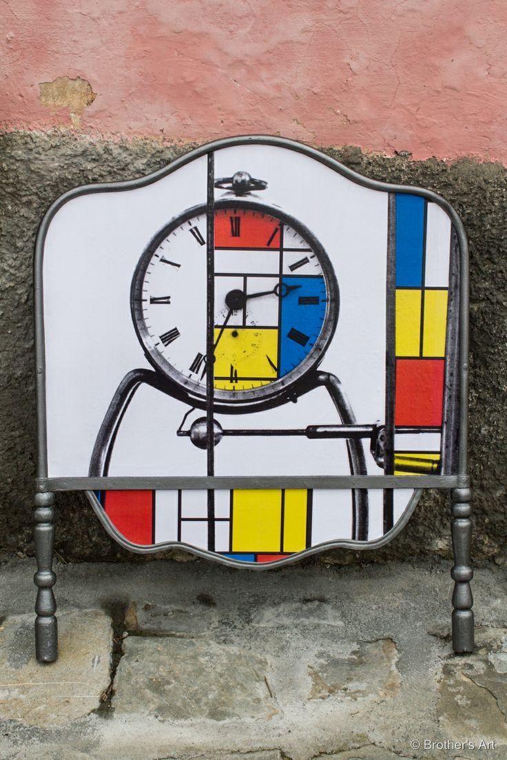 Le testiere di #Brother's Art - #Mondrian + BA photos