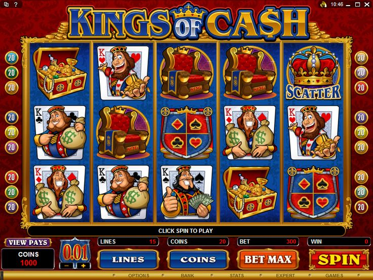 The Kings of Cash Online Slot is a 5 Reel, 15 Payline Video Slot and offers plenty of winning opportunities! The game includes bonus features like the Wild Symbol, Scatter Symbol and Free Spins! You'll find Kings of Cash at Crazy Vegas Casino: https://www.crazyvegas.com/