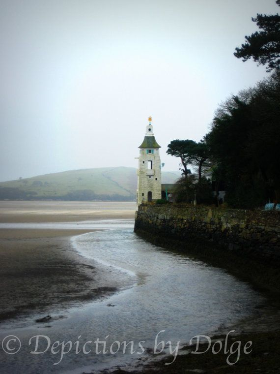 Around the Corner at Port Meirion  8X10 Fine by DepictionsbyDolge, $4.25