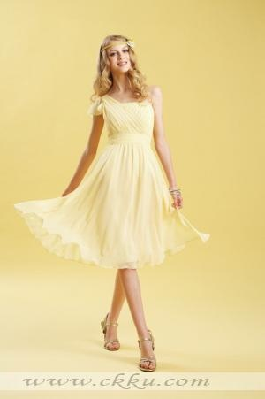 Pale yellow dress -I love it!  It totally makes me want to twirl and dance all night!