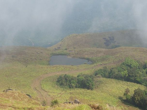 On Way to Chembra Peak