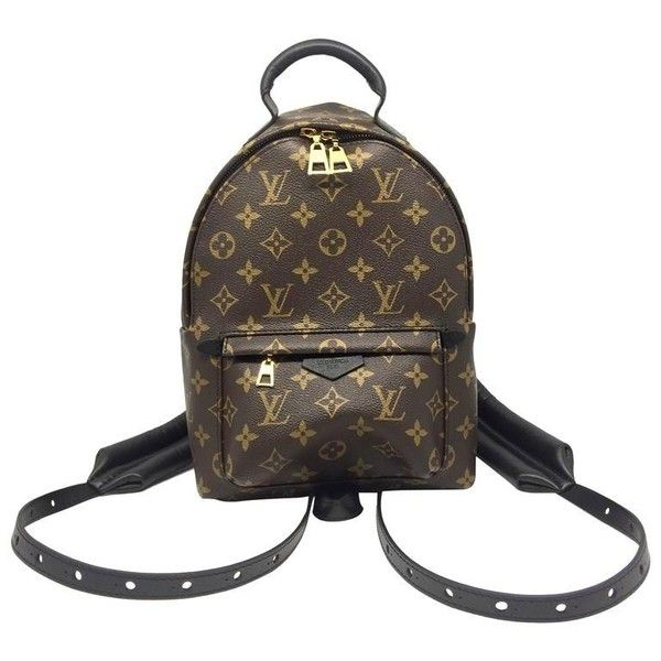 Louis Vuitton Palm Springs PM Monogram Backpack (7.115 BRL) ❤ liked on Polyvore featuring bags, backpacks, rucksack bags, monogrammed backpacks, louis vuitton knapsack, louis vuitton bags and day pack backpack