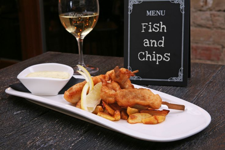 The perfect fish and chips - on the blog