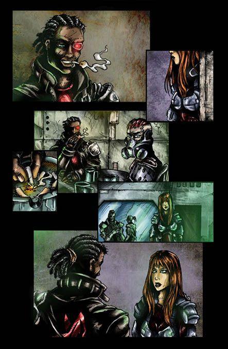 Bloodlust 1. szám, 12. képregényoldal