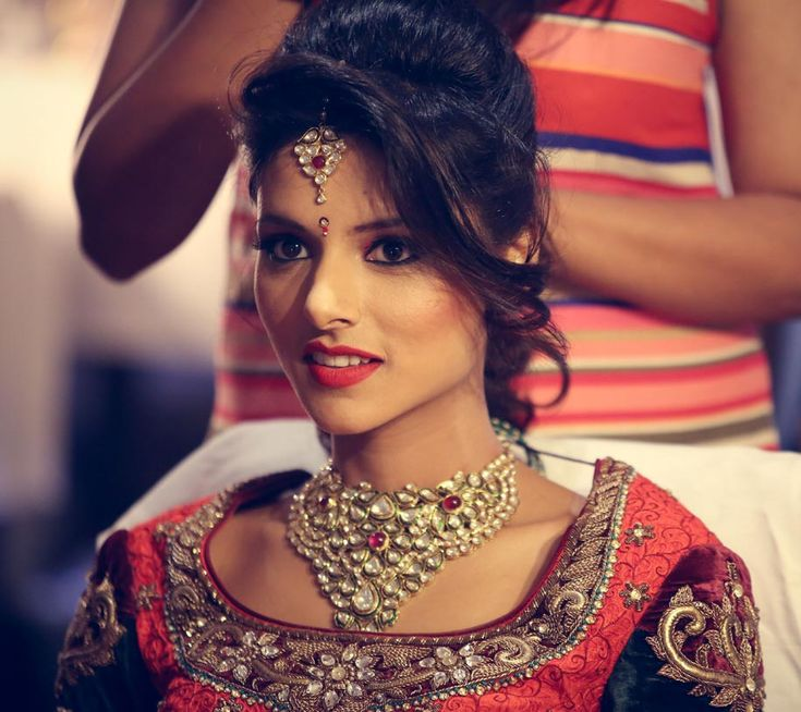 Mr Jaywant Thakre for a Bridal Makeover of Tanvi Garg of WeddingSutra.