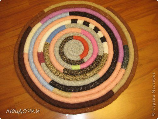 Вязание крючком - Коврик с продолжением