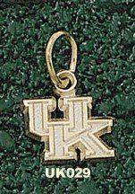 """Univ Of Kentucky New """"Uk"""" 1/4"""" Gold Plated Charm/Pendant * You can get additional details at the image link."""