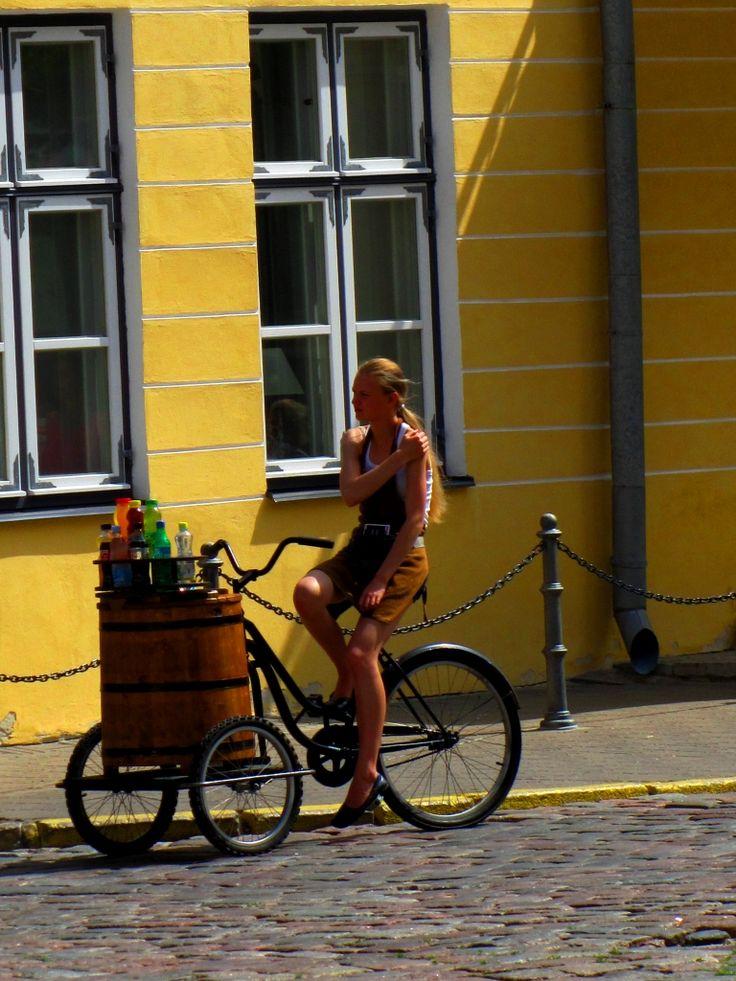 Claudio Fasola, Tallin, 6 Luglio 2011 - Biciclettaia