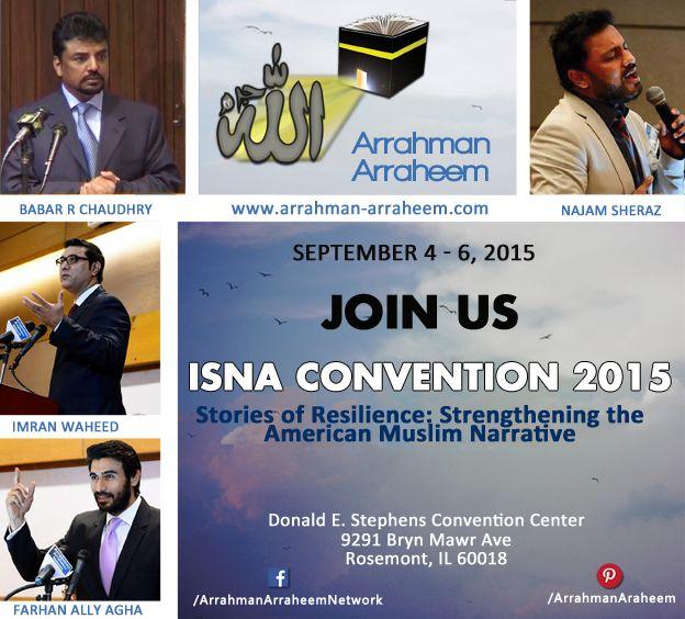 #ISNA #ISNA52Chicago #ARAR #BabarRChaudhry #Islam