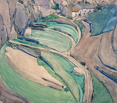 Mont Alba by  Charles Rennie Mackintosh