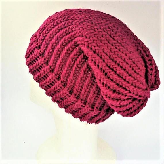 Check out this item in my Etsy shop https://www.etsy.com/uk/listing/540988626/magenta-pink-slouch-hat-winter-slouch
