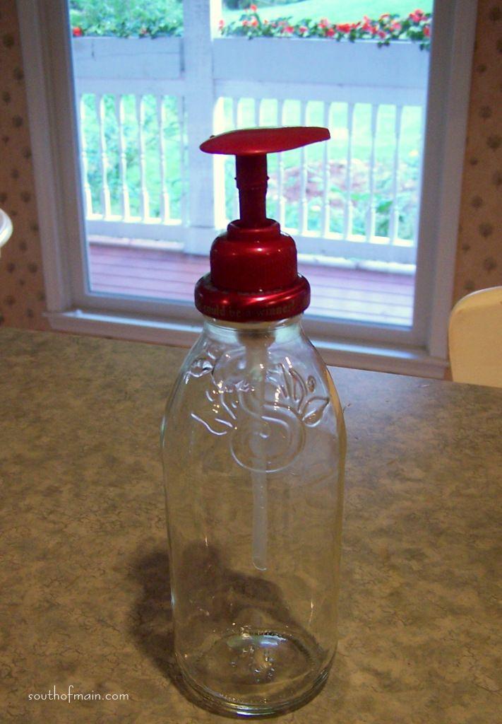 Snapple soap bottle!