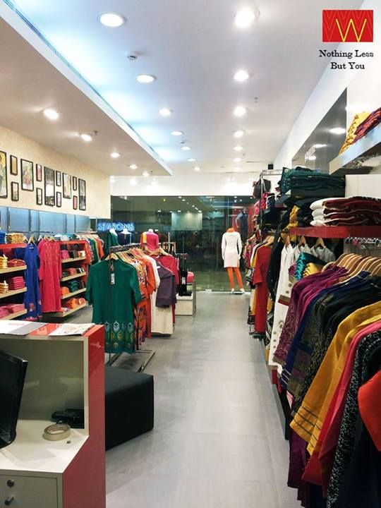 #W brings #ethnic Indian wear for the new age women of this Colorful City! Now open at Inorbit, #Vadodara