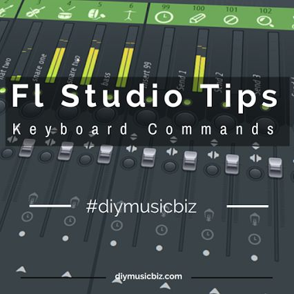 Fl Studio Keyboard Commands: Speed up your music production process.