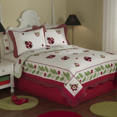 Ladybug Quilt Bedding