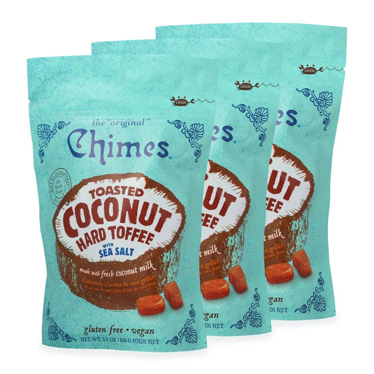 Chimes Toasted Coconut Candy with Sea Salt