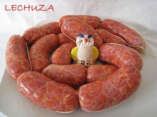 La #Receta de los #Chorizos Caserosde Paleta hazlos son fácil de hacer ...