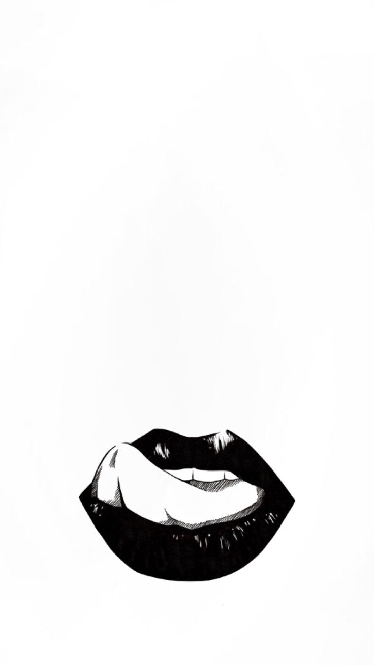 Black and white lockscreens