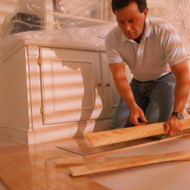 How to Refinish Laminate Wood Floors