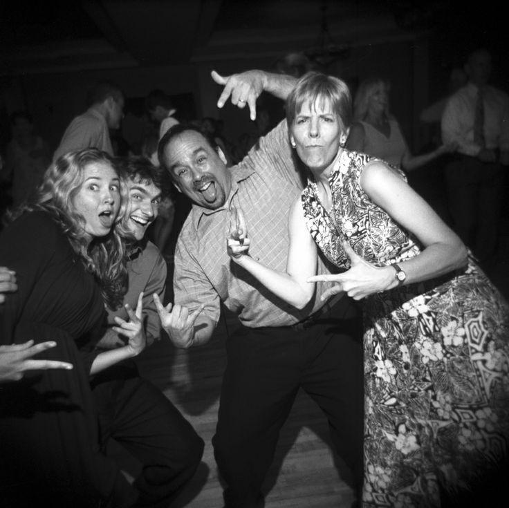 Dancing craziness.