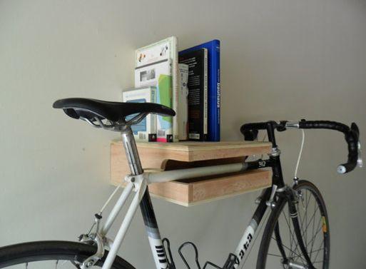 calling all bike-shelf rip-offsBikes Storage, Art Call, Bikes Holders, Bikeshelf Ripoff, Better Bikes, Shelves, Bikes Shelf Ripped Off, Holding Book, Bikes Style