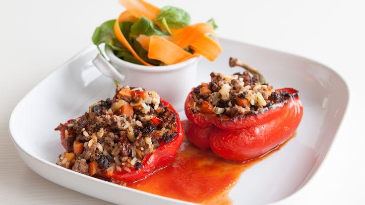 Marinara Stuffed Peppers