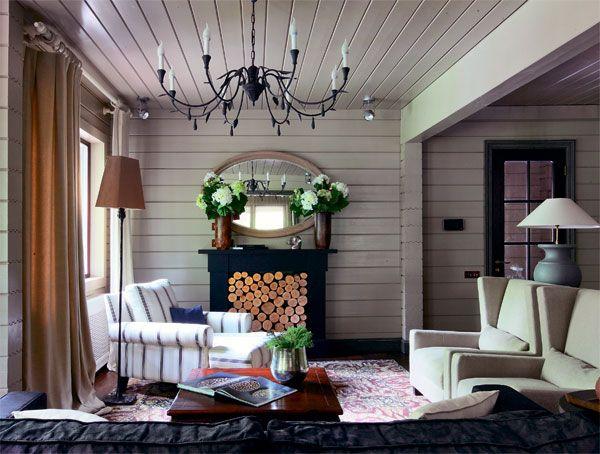 Двухэтажный коттедж из клееного соснового бруса   Дома из клееного бруса   Журнал «Деревянные дома»