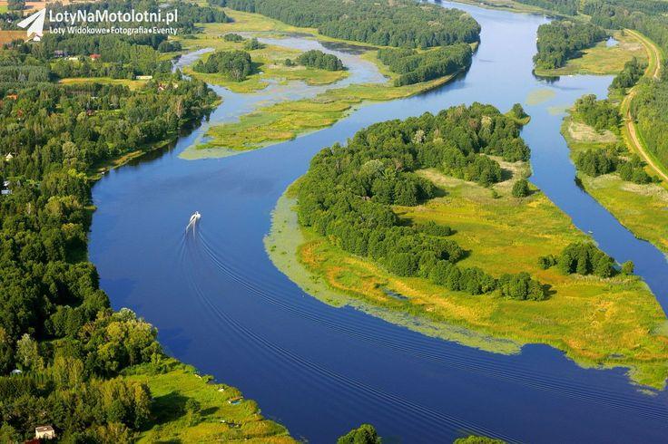 Narew river, Poland