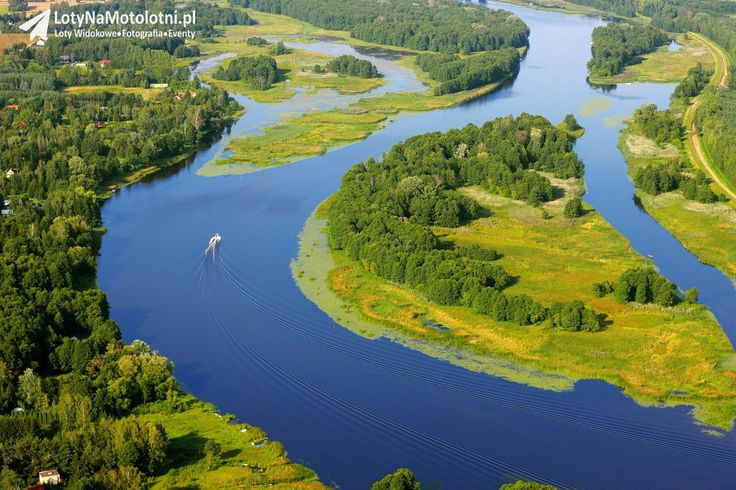 Narew river, Poland
