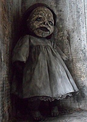 OOAK-Horror-Dead-Decaying-Mummified-Gothic-Doll