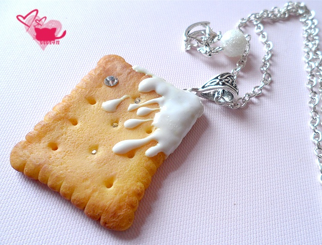 Yummy fimo biscuit