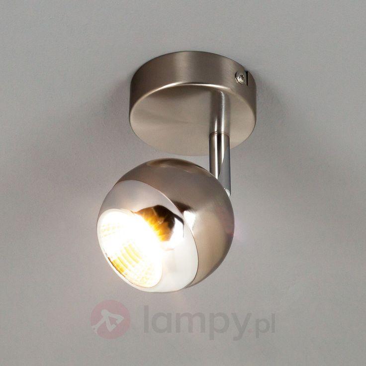Spot sufitowy LED AIMEE, satynowany nikiel 9950341
