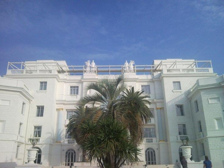 Pergole Med UNICA 165 Gibus pentru terase resedinta . Pergole foarte mari, vedere de la sol