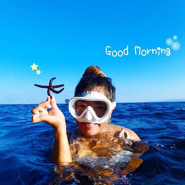 【happygirl.riho】さんのInstagramをピンしています。 《💖 Good Morning😘✨✨ 座間味島に向かってるフェリーなう🛳💕 このDancing Starfishみたいにるんるん気分〜🎵 #Okinawa #PinkMermaid #diving #snorkeling #summer #blue #sea #ocean #starfish #smile #sunny #water #fun #GoodMorning #沖縄 #ダイビング #シュノーケリング #スマイル #ヒトデ # #真栄田岬 #海 #青 #空 #ブルー #るんるん #マーメイド #笑顔 #夏 #스노클링》