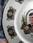 Click to view larger image of Prince Andrew And Fergie Souvenir Plate Royal Wedding (Image3)