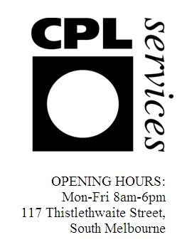 CPL Digital Services; South Melbourne;  Printing from file: Make sure you set up your files to their exact specifications to avoid extra charges for adjustments; Also offer student discounts for some bulk printing jobs; will process and print black & white negs; comprehensive prices lists on the website