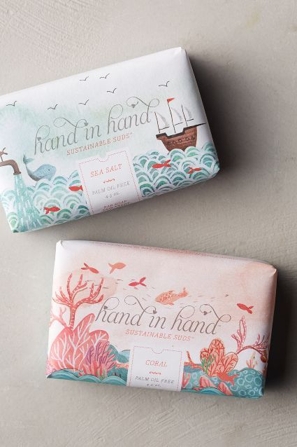 Hand In Hand Soap Bar - anthropologie.com