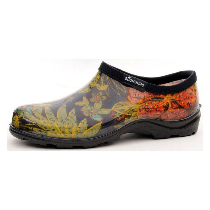 Sloggers Womens Midsummer Black Rain Shoe, Women's